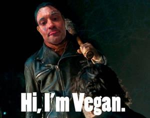 Hi. I'm Vegan