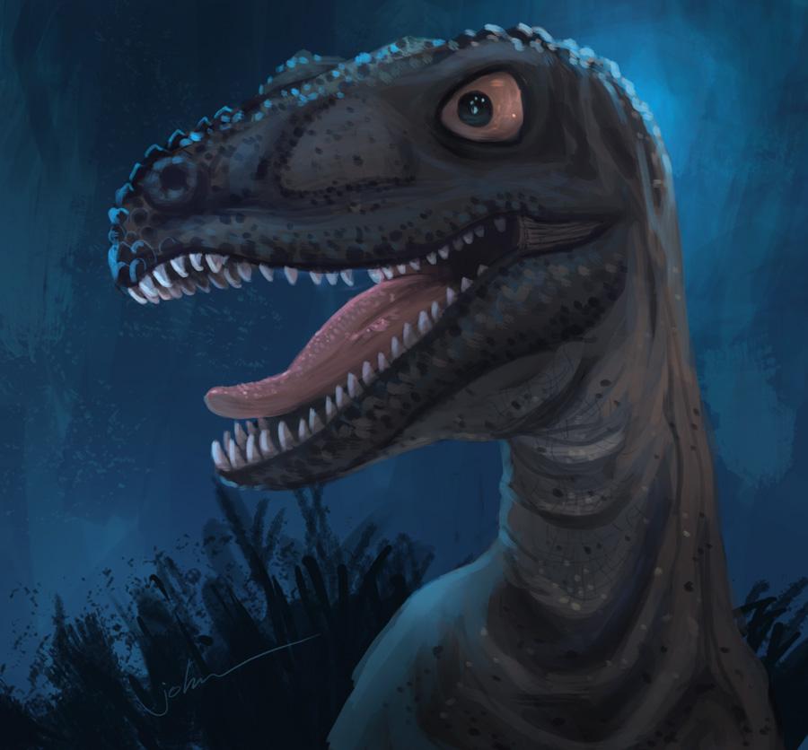 dinosaur by starryjohn