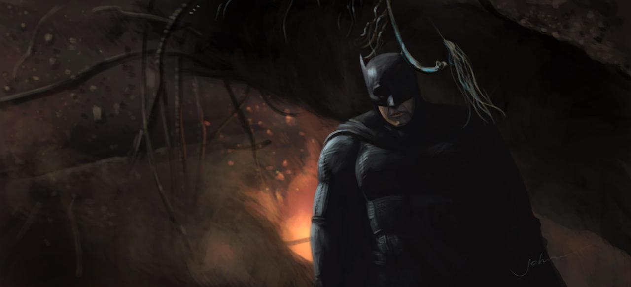 Batman by starryjohn