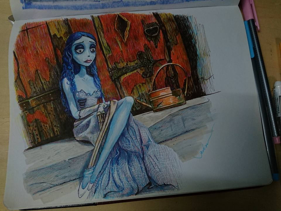 Corpse Bride ... by starryjohn