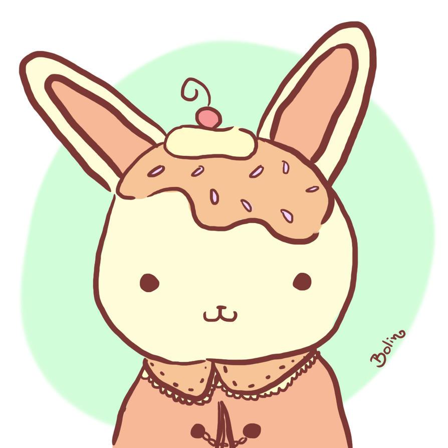 Ice bunny by Bolinhow