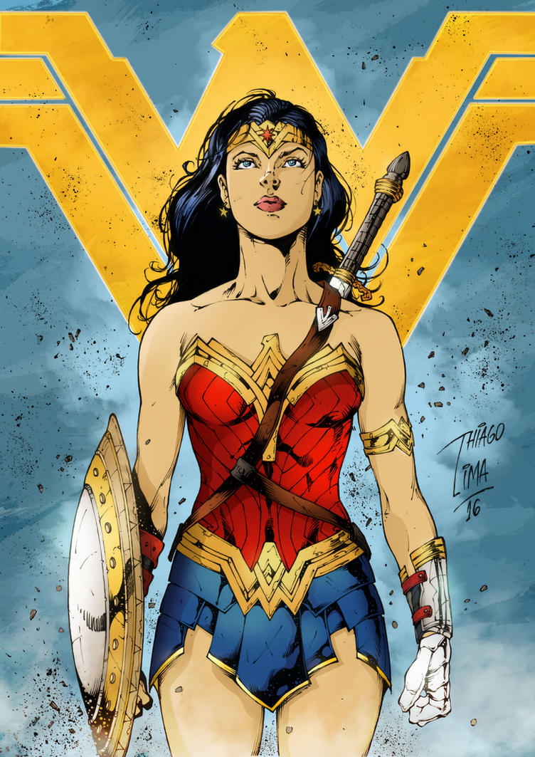 Wonder Woman - Colors by Ldsigns