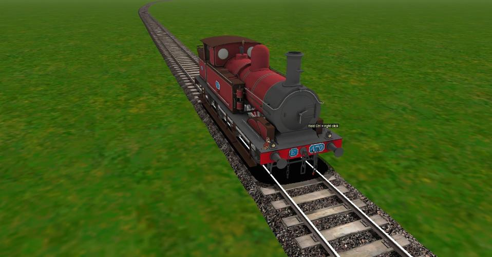 Trainz Sim Fantasy  Thompson the Tank Engine by Beastthedog15 on
