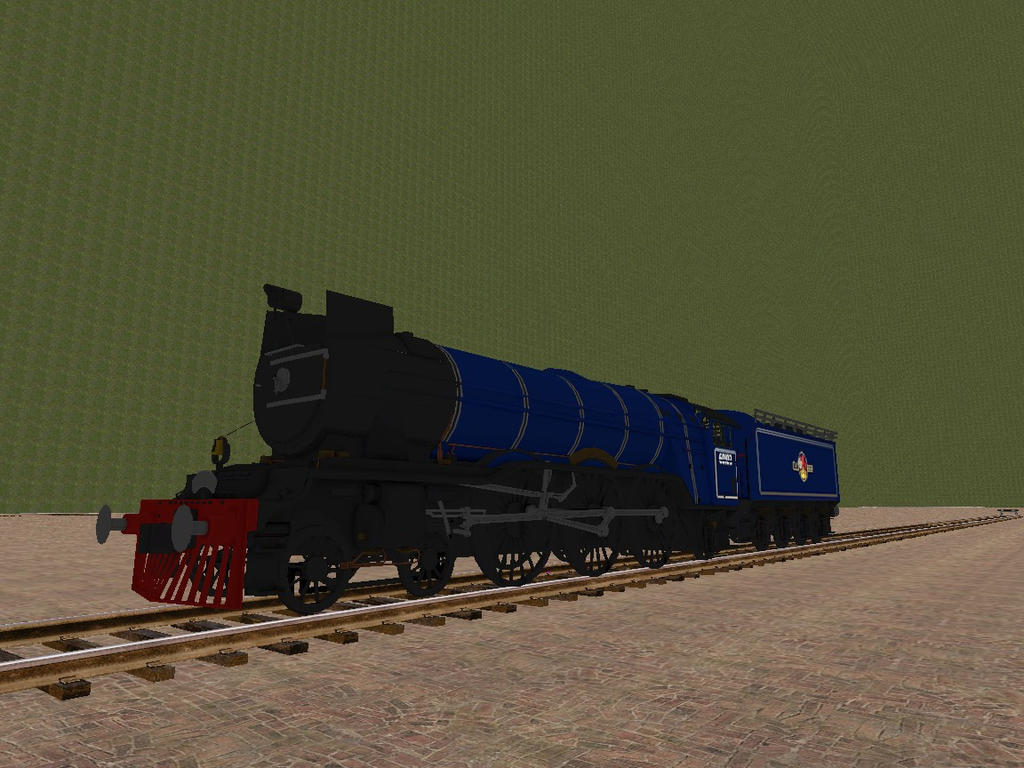 WOTB Locomotive Challenge My Steam Locomotive. by Beastthedog15