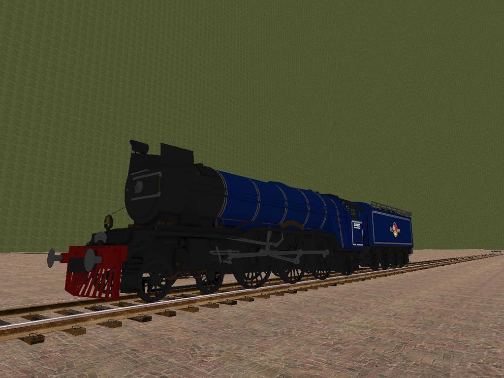 WOTB Locomotive Challenge My Steam Locomotive. by Beastthedog15