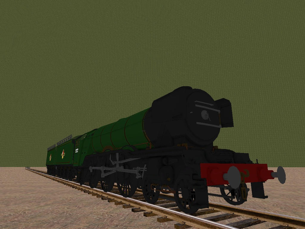 WOTB Locomotive Challenge 02 My Brother's Engine by Beastthedog15