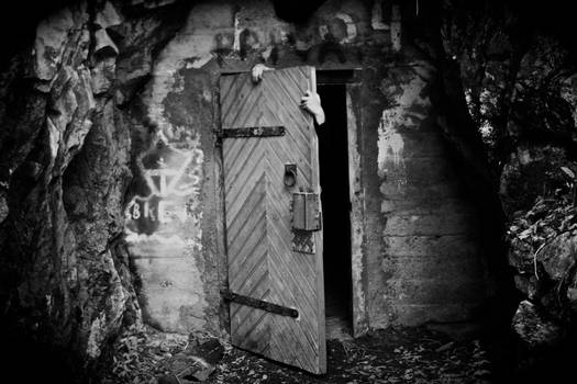 Come inside if you dare..