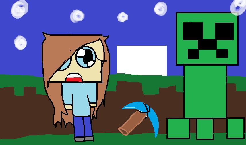 Minecraft.. RAGE QUIT by Firestarx3