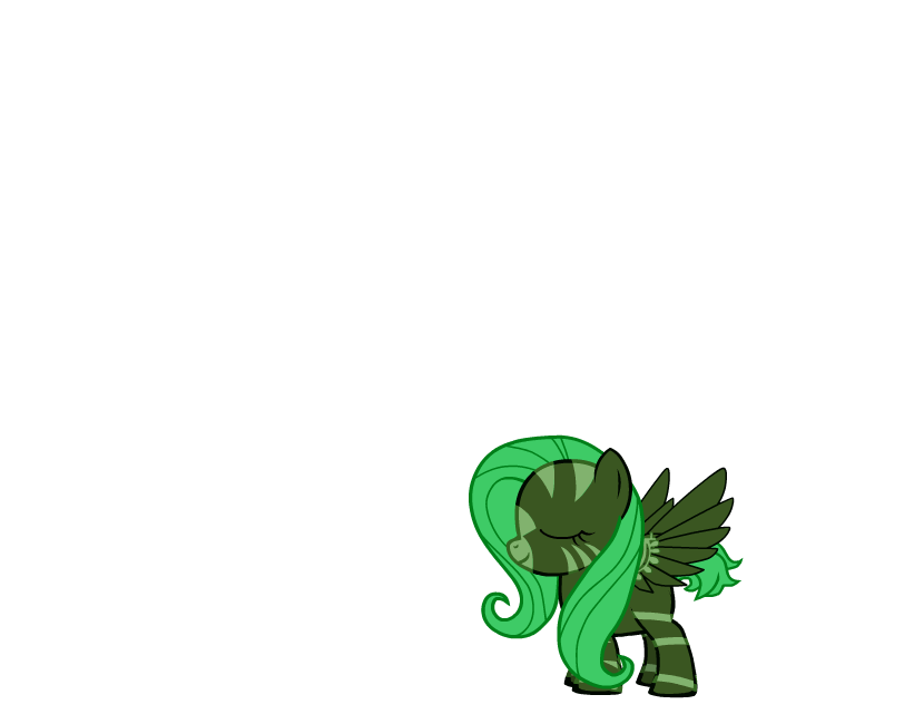 Slime (Minecraft Mob) Pony :D Ellie! by Firestarx3