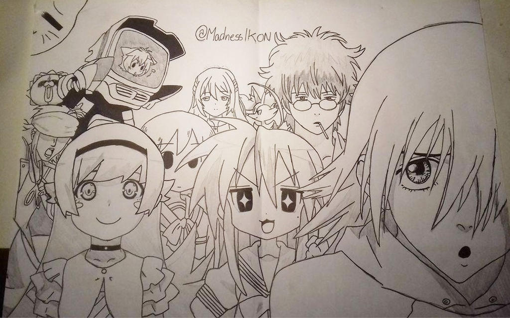 The Anime Mans Birthday Drawing From IkonikShades By