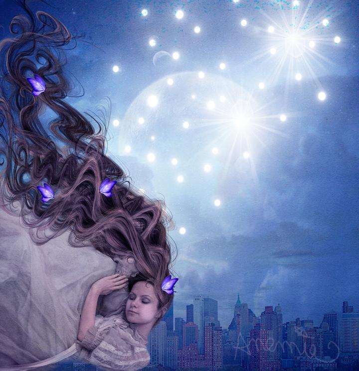 Falling asleep by PlacidAnemia