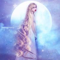 Fille De La Lune by PlacidAnemia