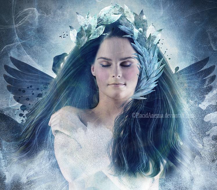 Ice Angel by PlacidAnemia