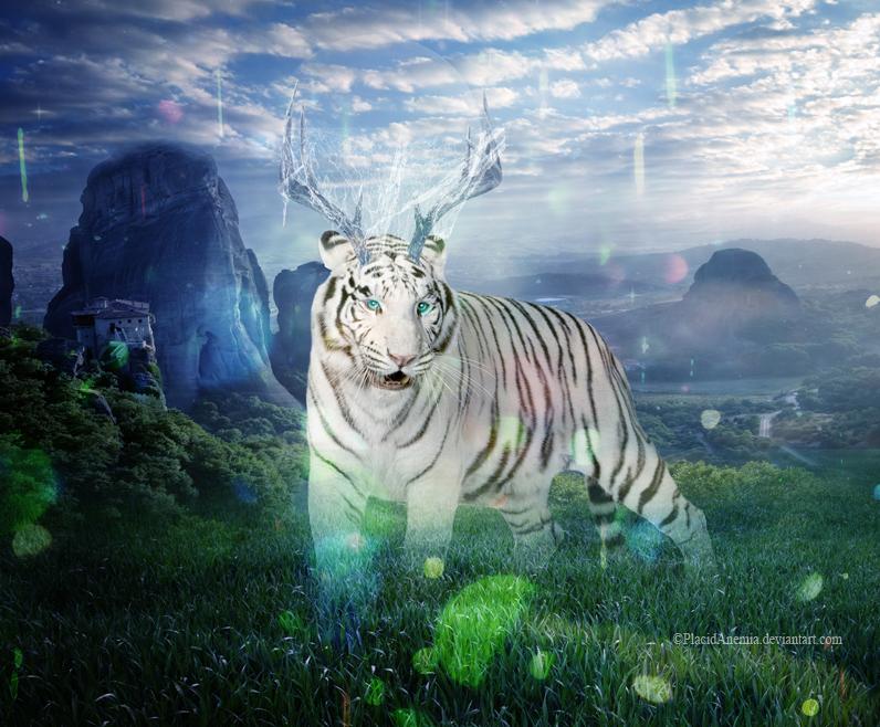 Le Dieu Tigre by PlacidAnemia