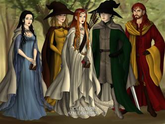 GryffindorHufflepuffRavenclawSlytherinAndNephilim by LucialesRosebell