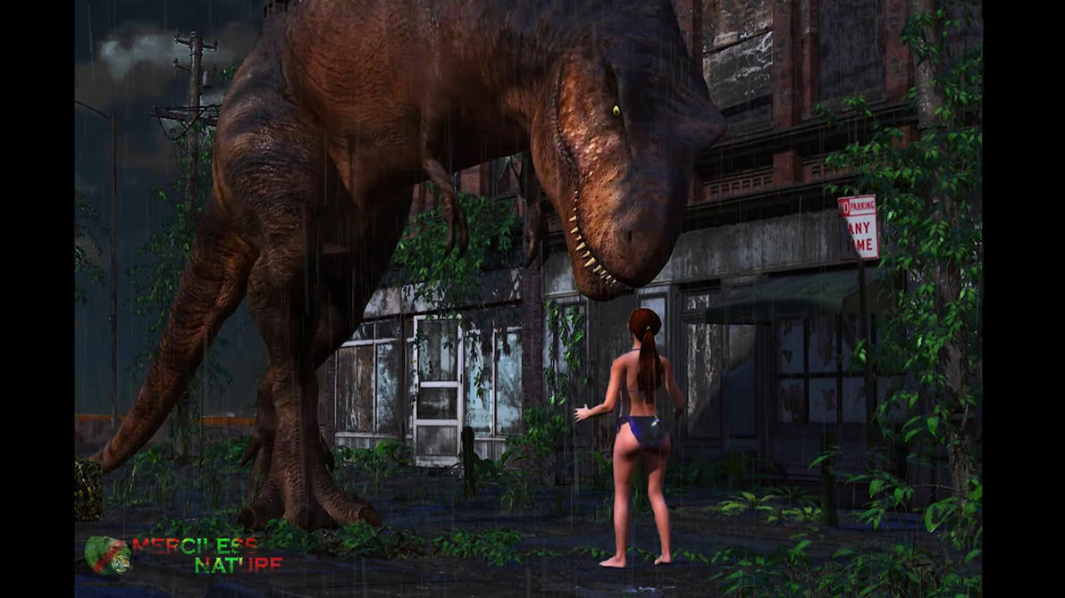MK - T.Rex Fatality Series - 1 Deep Down Teaser 1 by DragesOversky