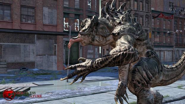 MK - T.Rex Fatality Series - 1 Deep Down Teaser 1 by