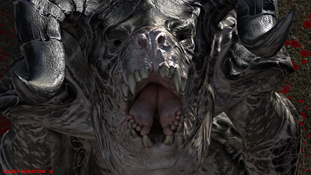 Feet in Deathclaw's Mouth by DragesOversky