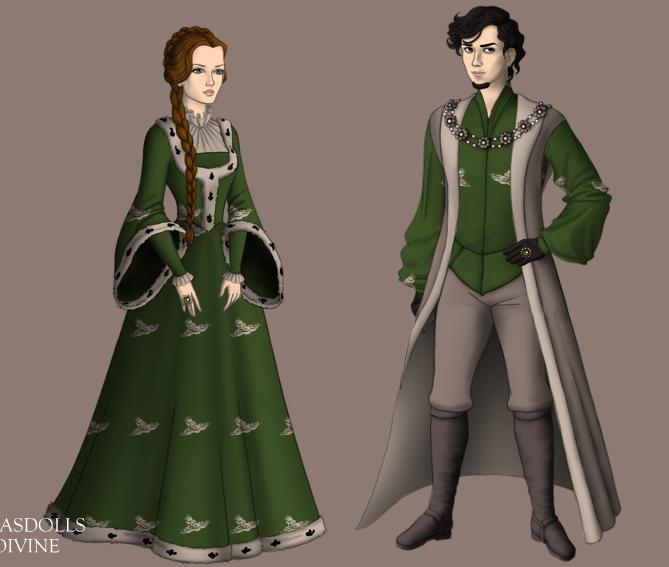 Petyr and Alayne by alcanis-ivennil