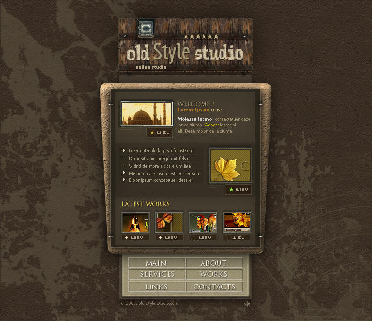 Old Style Studio by arEa50oNe