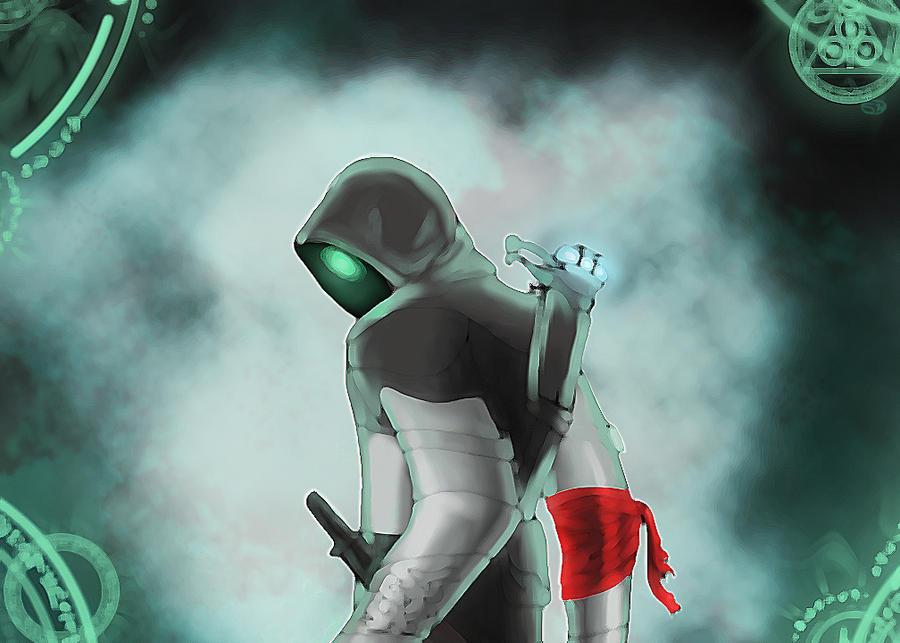 Robot assassin by Sasukegrl
