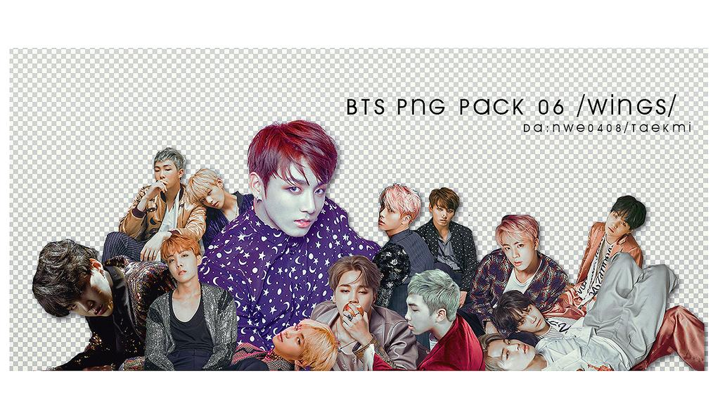43 / BTS Wings PNG PACK 06 by NWE0408