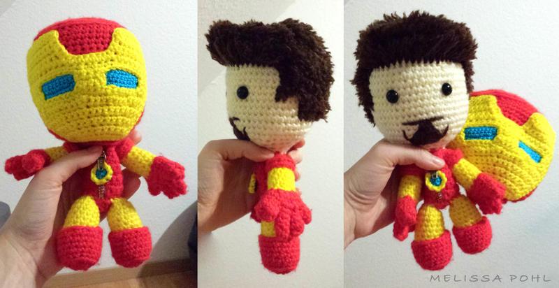 Amigurumi Forum Net : Iron man crochet amigurumi doll by shakesy90 on deviantart