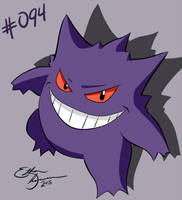 Gengar by ace-trainer-ethan