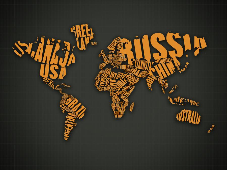 World map orange by gustafnagel on deviantart world map orange by gustafnagel gumiabroncs Images