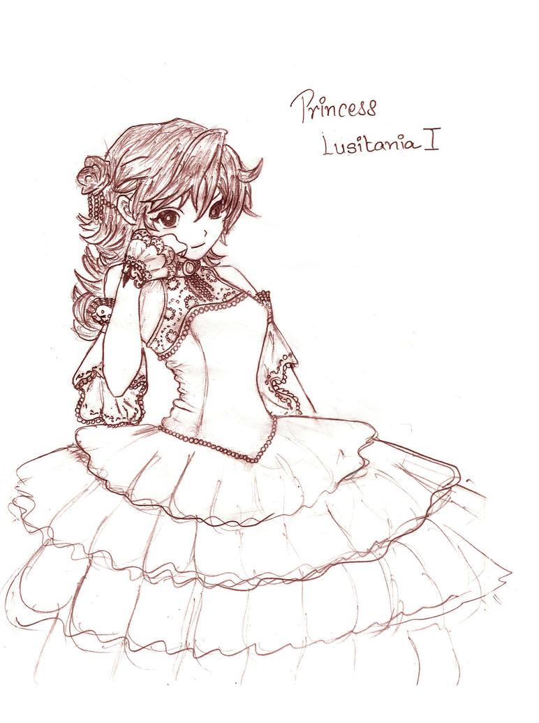 Princess Lusitania I Colord by Titanaria