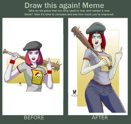Draw this again Damsel
