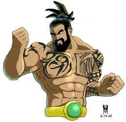MMA Saiyan by TheGreenCount