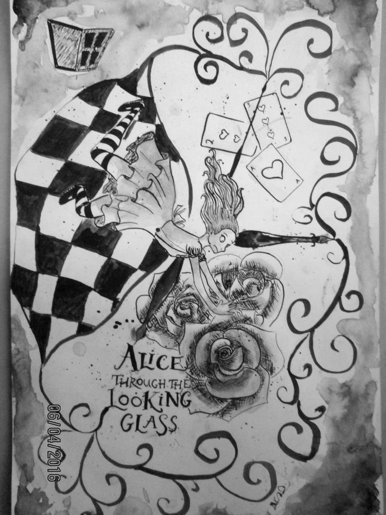 Alice Through the Looking Glass by dla11