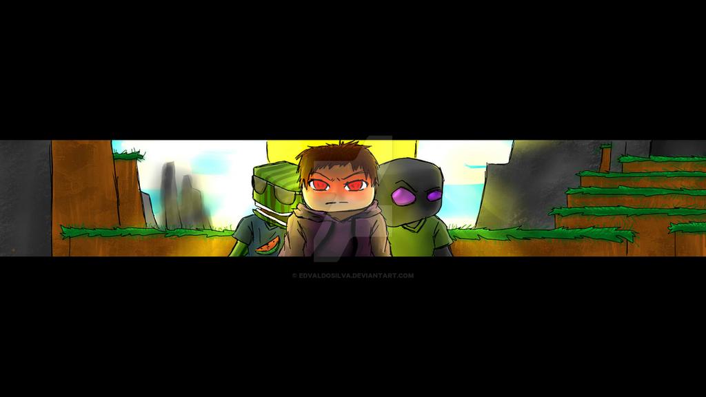 Minecraft Banner For Youtube By EdvaldoSilva On DeviantArt