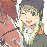 Winry and Amber by CeruleanSan