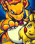 SSB! Charizard VS Pikachu