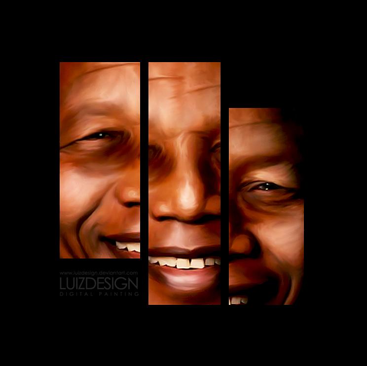Nelson Mandela ARTWORK by Luizdesign