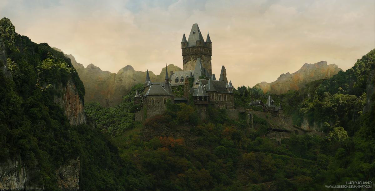 Zabini, Vanora Icthwail Abandoned_Castle_by_Luizdesign
