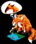 Mottled Fox draws