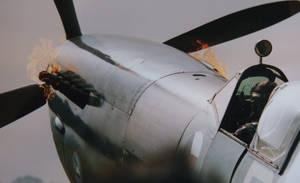 spitfire FIRES up northweald by Sceptre63