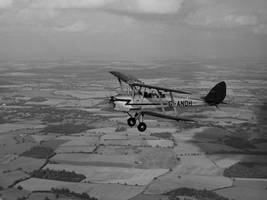G-ANDH tiger moth flying by Sceptre63