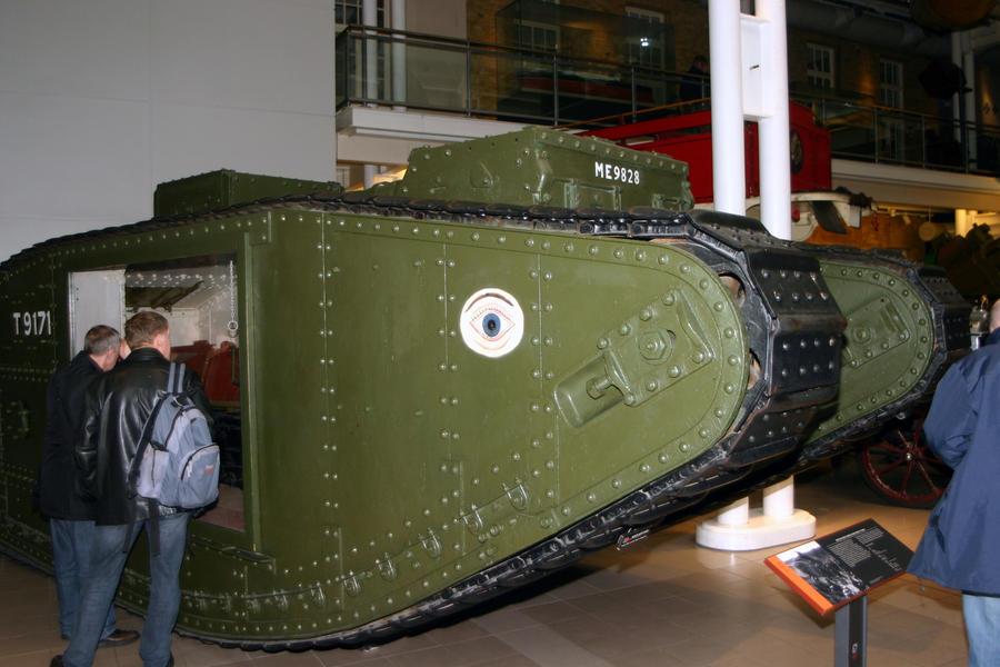 early ww1 tank mkV by Sceptre63