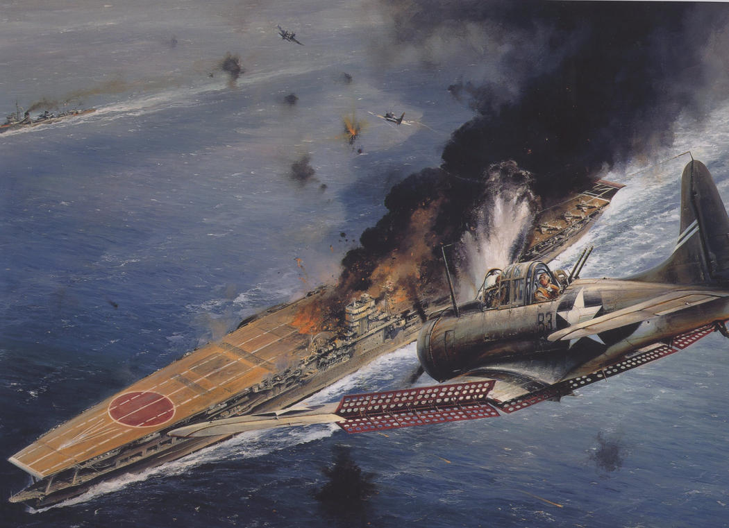 midway strike against carrier by Sceptre63