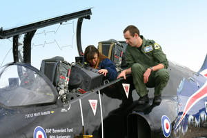 tracy gets to sit in the hawk by Sceptre63