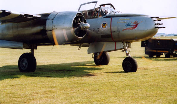 a26 douglas invader bomber