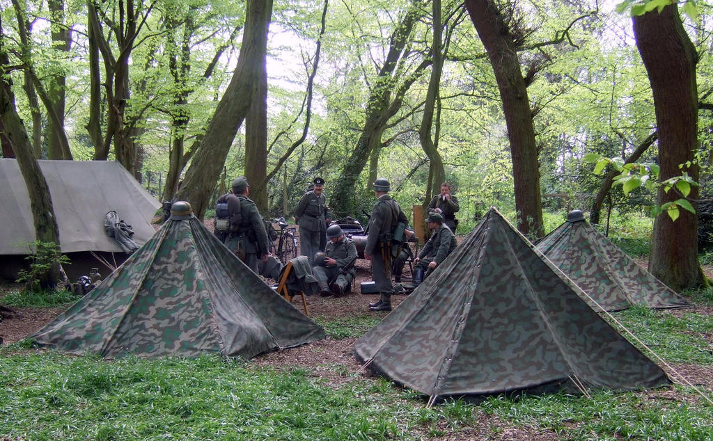 camping in the woods. German Camp In The Woods By Sceptre63 Camping