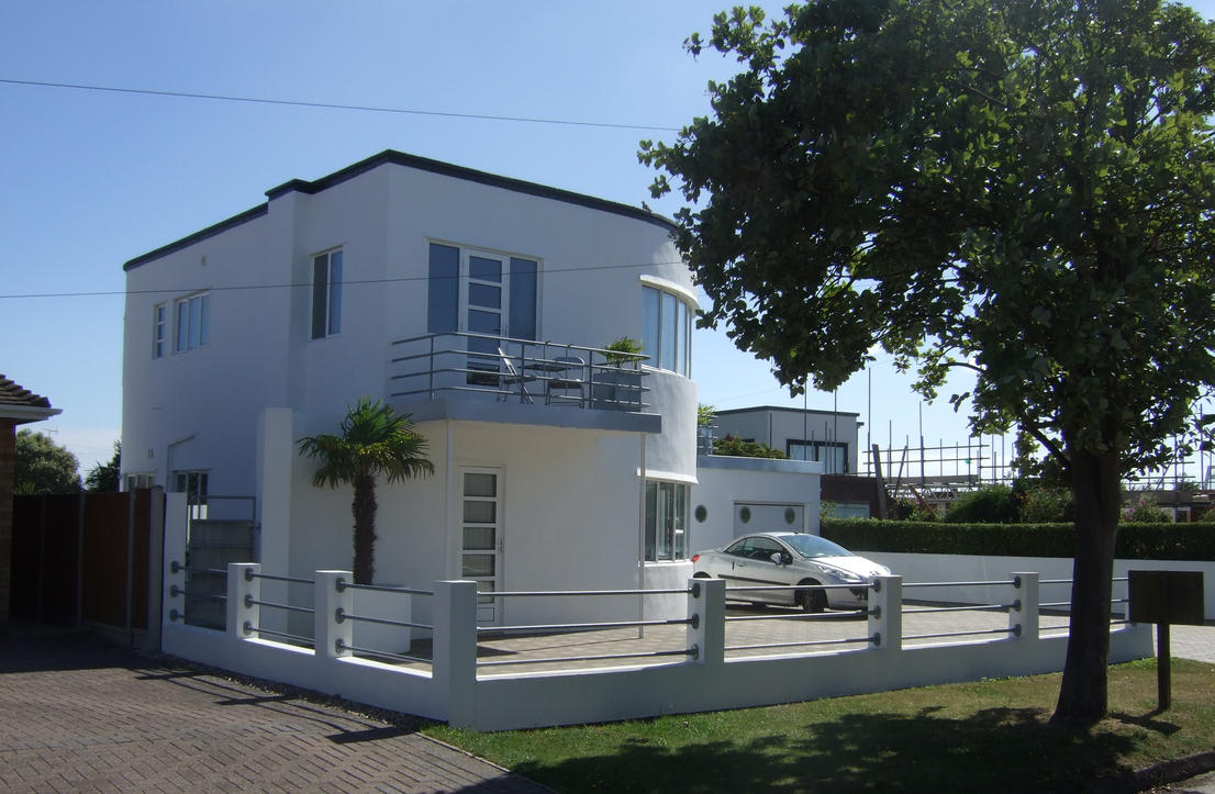 Art Deco Homes Houses 6 By Sceptre63 On Deviantart