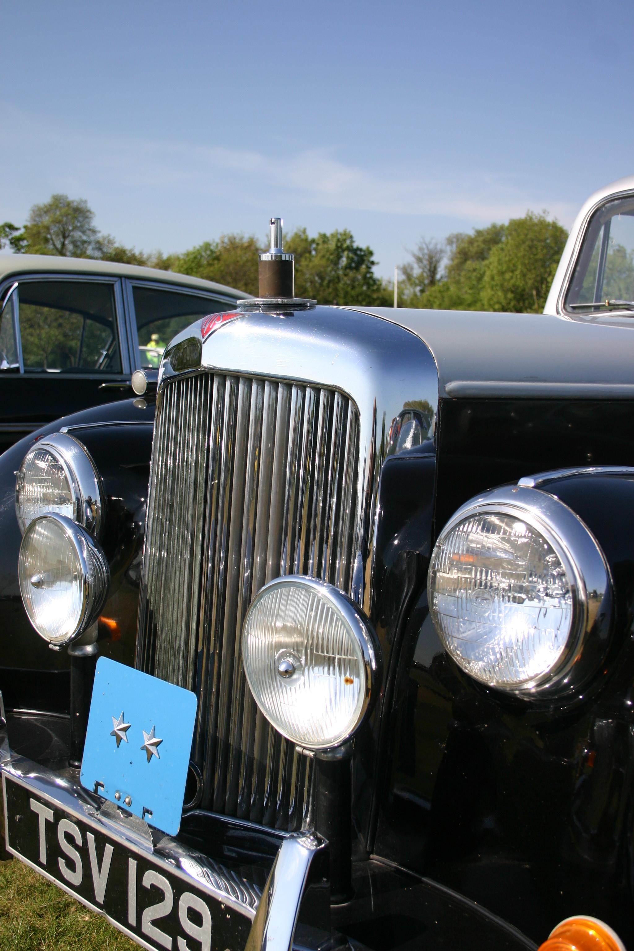 ALVIS DUXFORD SPRING CAR SHOW by Sceptre63