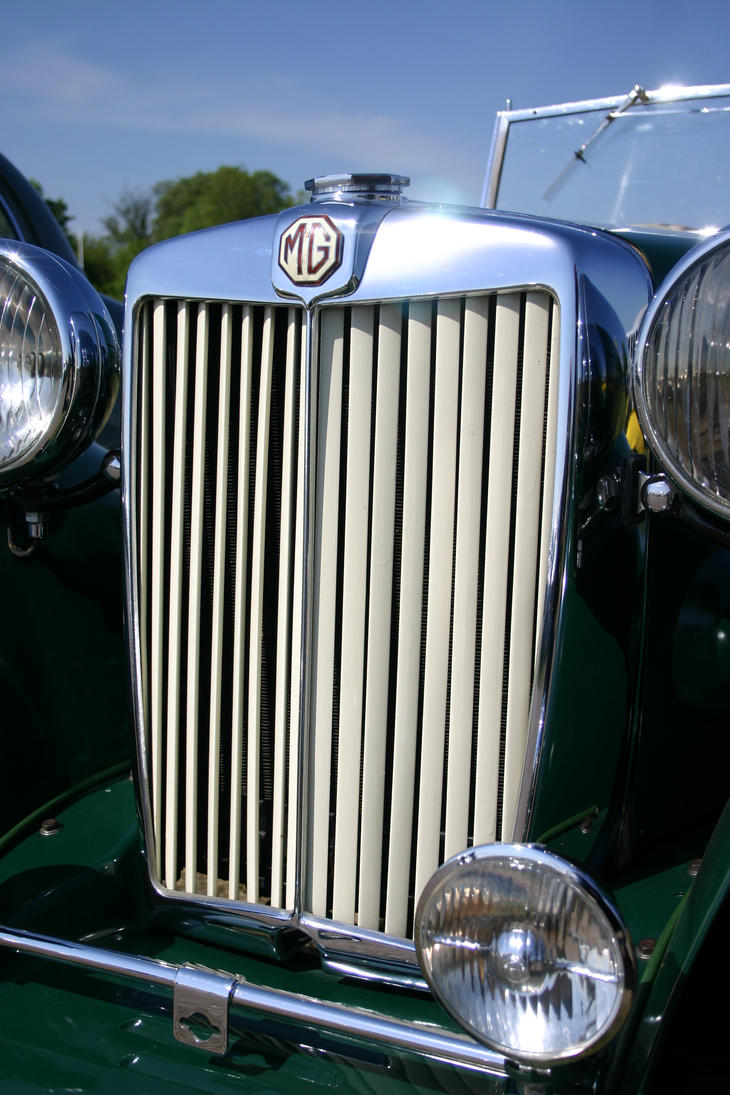 MG SPORTS CAR GRILL by Sceptre63