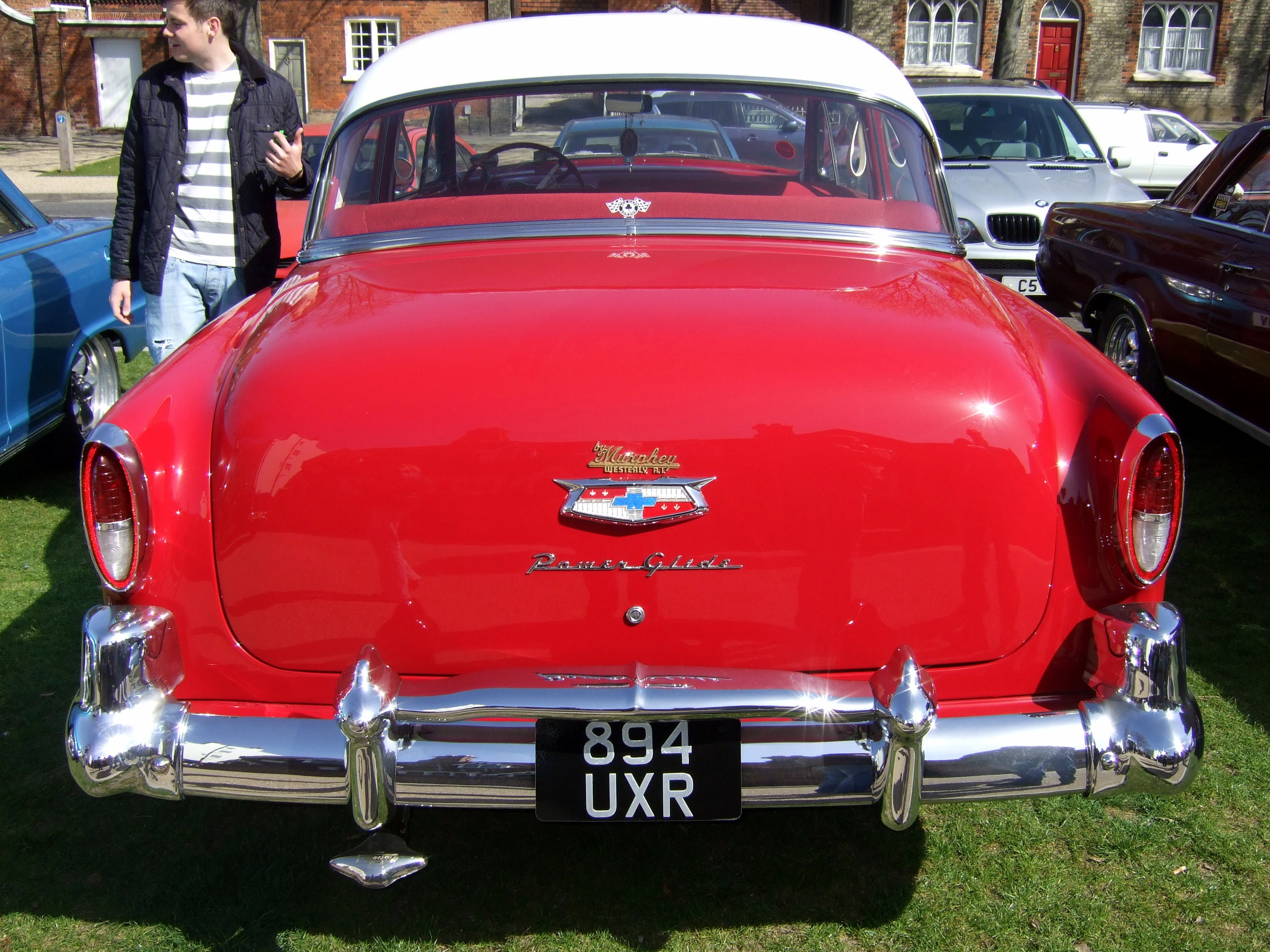 baldock high st car meet , Chevrolet, two ten by Sceptre63